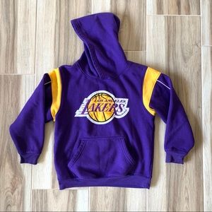 LA Lakers Logo Pullover Hoodie Kid Size M